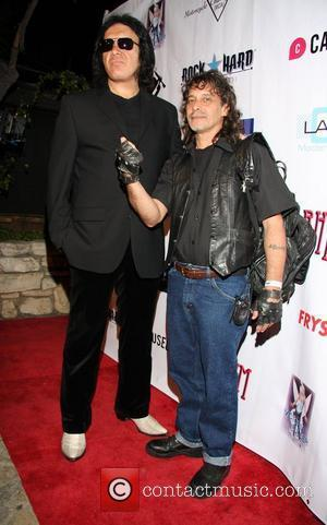 Gene Simmons, Billy Gordon 2nd Annual Leather Meets Lace event to benefit Jenny McCarthy's charity Generation Rescue held at the...