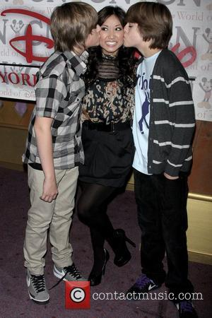 Dylan Sprouse, Brenda Song, Cole Sprouse and Disney