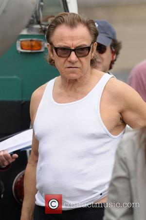 Harvey Keitel on the set of 'Life On Mars' filming at Coler-Goldwater Hospital on Roosevelt Island New York City, USA...