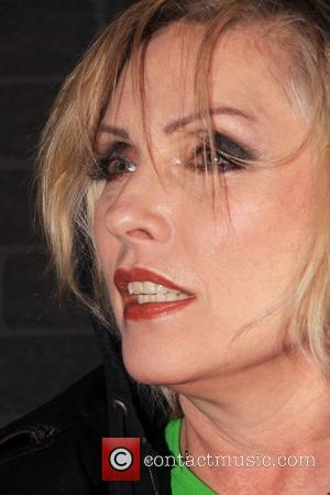 Deborah Harry attends the tribute to Stephen Sprouse cocktail party hosted by Louis Vuitton at the Louis Vuitton store New...