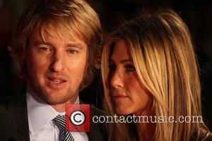 Owen Wilson and Jennifer Aniston  Marley And Me - UK film premiere held at the Vue West End -...