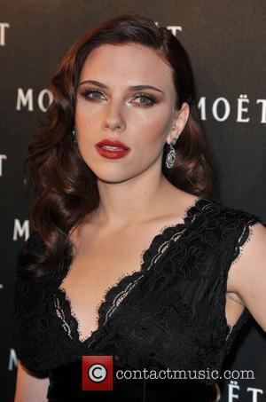 Scarlett Johansson Moet & Chandon: A Tribute To Cinema held at the Big Sky Studios. London, England - 24.03.09
