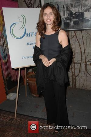 Amy Brenneman Motherhood: A benefit for Maternal Fetal Care International (MFCI) held at Cafe Des Artistes Hollywood, California - 26.04.09