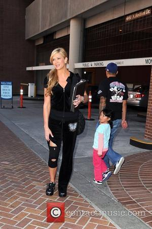 'Access Hollywood' cohost Nancy O'Dell shows off her knee brace as she leaves a medical building in Beverly Hills. Nancy...