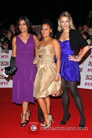 Ali Bastian, Rhea Bailey and Amita Dhiri National Television Awards 2008 held at the Royal Albert Hall - Arrivals London,...