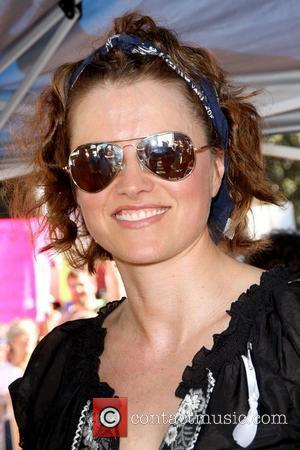 Lucy Lawless No on Prop 8 Protest Rally held at Los Angeles City Hall Road store Los Angeles, California -...