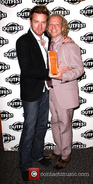 Ewan McGregor and Bruce Cohen The Outfest 2008 Legacy Awards held at The Directors Guild of America West Hollywood, California...