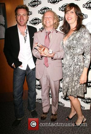 Ewan McGregor, Bruce Cohen and Kirsten Schaffer The Outfest 2008 Legacy Awards held at The Directors Guild of America West...