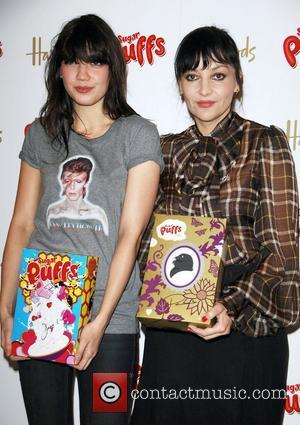 Daisy Lowe and Pearl Lowe