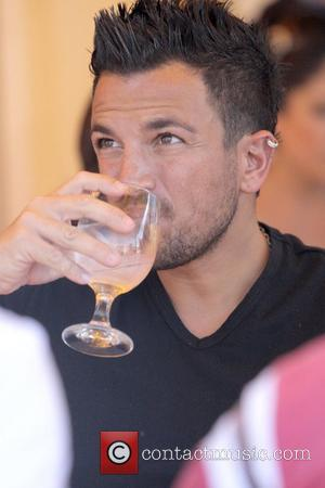 Peter Andre having lunch at Le Petit Four Restaurant in West Hollywood with his brother Los Angeles, California - 28.10.08