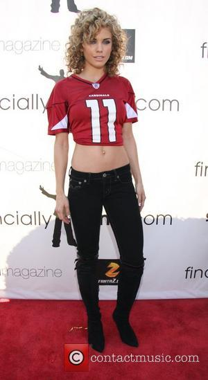 Annalynne McCord Game Day at the Playboy Mansion Los Angeles, California - 01.02.09