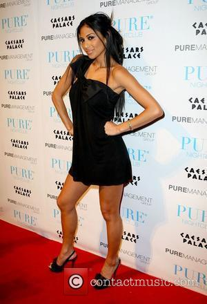 Nicole Scherzinger The Pussycat Dolls return to host a night at Pure nightclub inside Caesars Palace Resort Casino Las Vegas,...