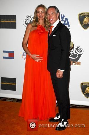 Tommy Hilfiger with his wife Dee Ocleppo The 16th annual Race to erase MS held at the Hyatt Regency century...