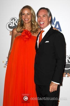 Tommy Hilfiger and Dee Ocleppo The 16th annual Race to erase MS held at the Hyatt Regency century plaza...
