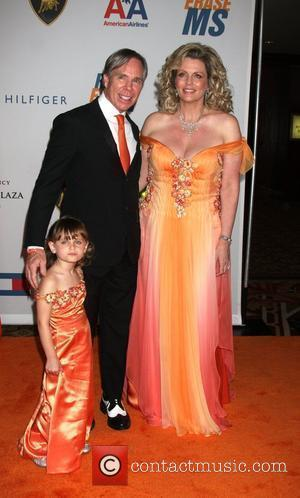 Tommy Hilfiger, Nancy Davis and daughter The 16th annual Race to erase MS held at the Hyatt Regency century plaza...