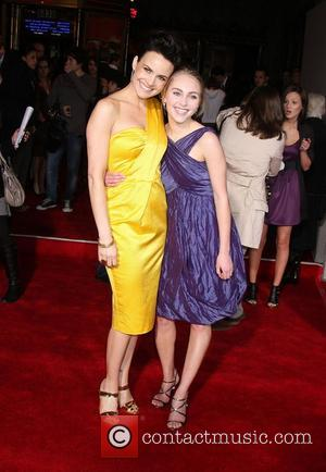 Carla Gugino and AnnaSophia Robb  Premiere of 'Race to Witch Mountain' held at the El Capitan Theatre - Arrivals...