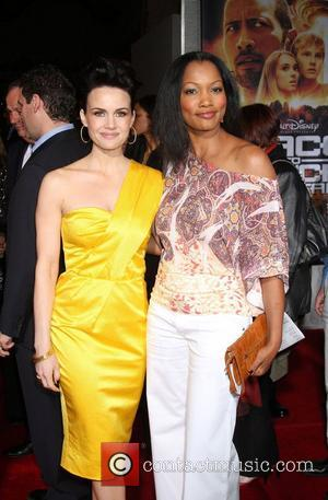 Carla Gugino and Garcelle Beauvais-Nilon  Premiere of 'Race to Witch Mountain' held at the El Capitan Theatre - Arrivals...