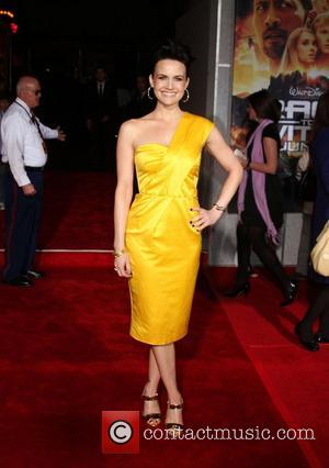 Carla Gugino  Premiere of 'Race to Witch Mountain' held at the El Capitan Theatre - Arrivals Los Angeles, California...
