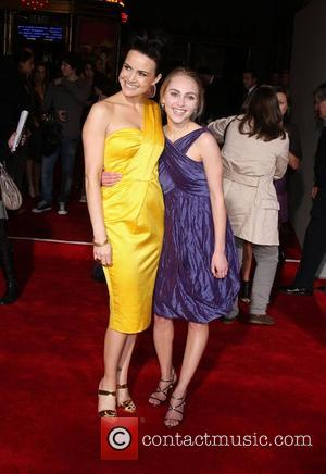 Carla Gugino and AnnaSophia Robb Premiere of 'Race to Witch Mountain' held at the El Capitan Theatre - Arrivals Los...