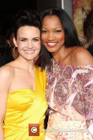 Carla Gugino and Garcelle Beauvais-Nilon Premiere of 'Race to Witch Mountain' held at the El Capitan Theatre - Arrivals Los...