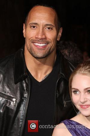 Dwayne Johnson  Premiere of 'Race to Witch Mountain' held at the El Capitan Theatre - Arrivals Los Angeles, California...