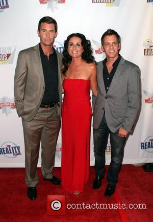 Jeff Lewis, Jenni Pulos and Ryan Brown The Reality Awards at the Avalon Theater - arrivals Los Angeles, California -...