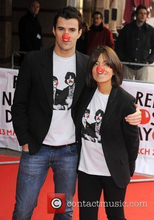 Claudia Winkleman and Steve Jones Red Nose Day - press launch held at the Empire Leicester Square. London, England -...