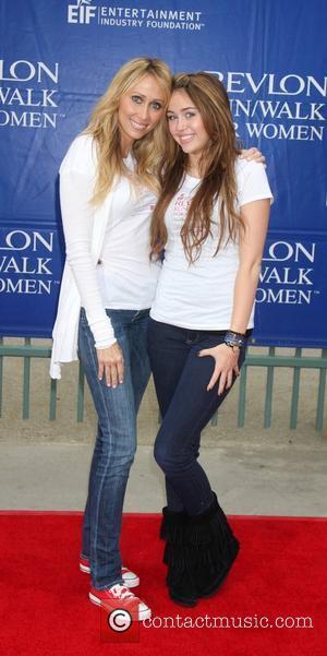 Tish Cyrus, Miley Cyrus 16th Annual EIF Revlon Run/Walk for Women held at the LA Memorial Coliseum Los Angeles, California...
