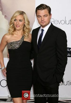 Kate Winslet and Leonardo DiCaprio The World Premiere of 'Revolutionary Road' held at the Mann's Village Theater - Arrivals Los...