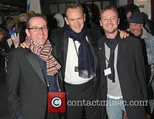 Ben Miller, Alexander Armstrong and John Simm The Royal Variety Performance held at the London Palladium - Departures London, England...