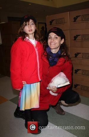 Amy Brenneman and Charlotte Brenneman The Salvation Army 'Making Miracle' sponsored by Feed The Children and NBPA held at The...