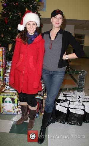 Amy Brenneman and Brenda Strong The Salvation Army 'Making Miracle' sponsored by Feed The Children and NBPA held at The...