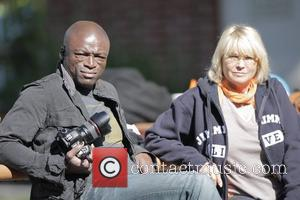 Seal and Erna Klum Seal takes his children to a soccer practice at a park in West Hollywood Los Angeles,...