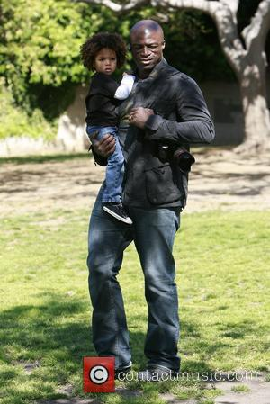 Seal and Johan Samuel Seal takes his children to a soccer practice at a park in West Hollywood Los Angeles,...