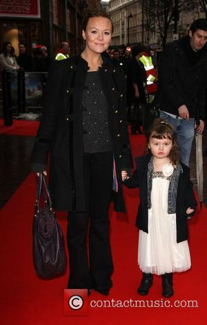 Charlie Brooks with her daughter Kiki UK charity premiere of The Secret of Moonacre held at the Vue cinema -...