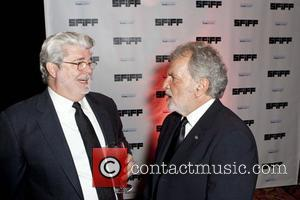 George Lucas and Sid Ganis