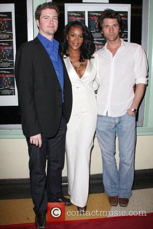 Vivica A. Fox, David Phillips, Jefferson Brown Premiere of 'Shark City' at the Regent Showcase Theatre Los Angeles, California -...