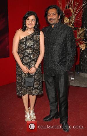 Nitin Ganatra and Nina Wadia The British Soap Awards 2009 held at BBC Television Centre - Red carpet arrivals London,...