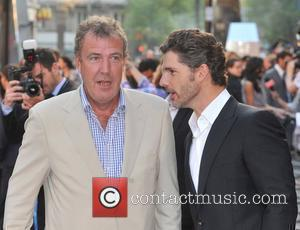 Jeremy Clarkson and Eric Bana UK film premiere of 'Star Trek' at the Empire Leicester Square - Arrivals London, England...