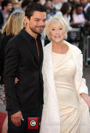 Helen Mirren and Dominic Cooper State Of Play - UK film premiere held at the Empire Leicester Square London, England...