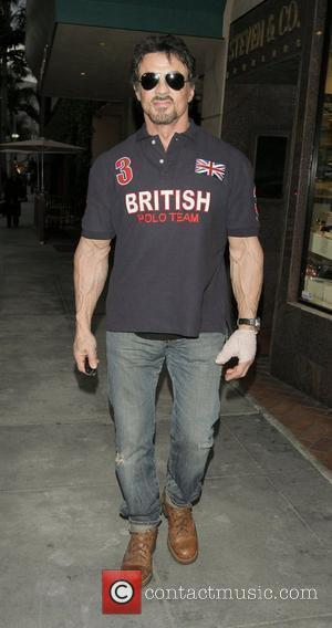 Stallone Turns To Hindu Herbs For Knee Problems