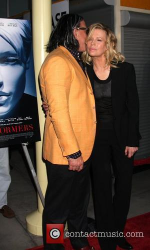 Mickey Rourke and Kim Basinger World Premiere of 'The Informers' held at the Arclight Theater - Arrivals Hollywood, California -...