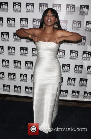 Nia Long Thurgood Marshall College Fund 21st Anniversary Awards Dinner Gala at the Sheraton New York Citty, USA - 27.10.08