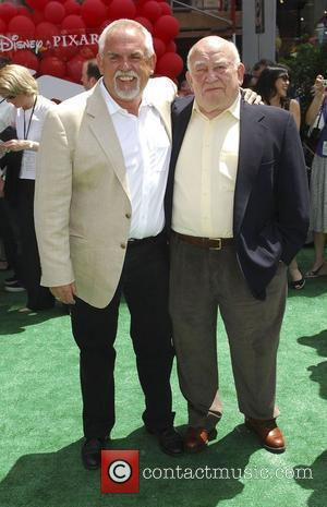 Ed Asner and John Ratzenberg Los Angeles Premiere of 'Up' held at The El Capitan Theatre. Hollywood, California, USA -...