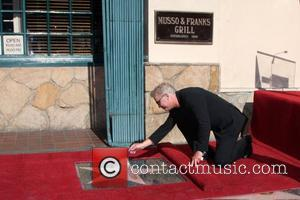 William Petersen at the Hollywood Walk of Fame Star Ceremony for WIlliam Petersen in front of Musso's & Franks Resturant...