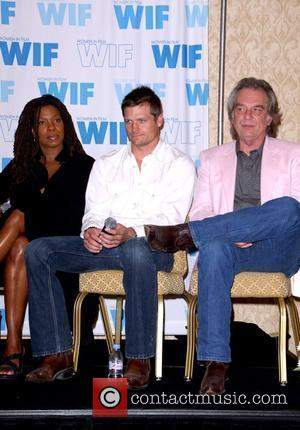 Lorraine Toussaint, Bailey Chase and Leon Rippy 'WIF' Women In Film Annual Networking Forum the Saving Grace panel held at...