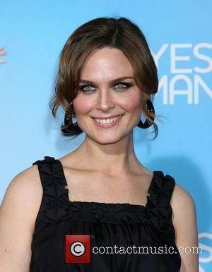 Emily Deschanel  Los Angeles Premiere of 'Yes Man' held at the Mann Village Theatre - Arrivals Los Angeles, California...