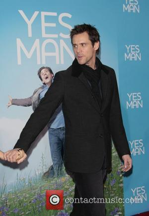 Carrey Soaps Up To Read His 'Yes List'