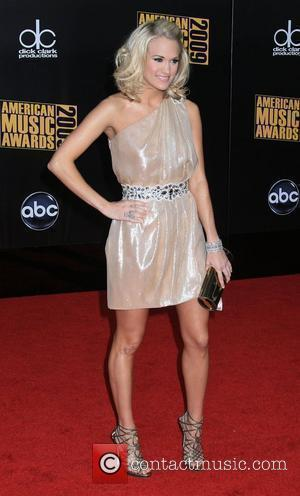 Carrie Underwood 2009 American Music Awards - Arrivals held at the Nokia Theatre L.A. Live Los Angeles, California - 22.11.09