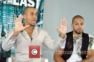 Anthony Romeo Santos and Henry Santos Jeter Aventura hold a press conference to promote their latest CD 'The Last' San...